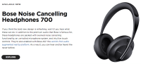 Bose Introduces Noise Cancelling Headphones 700 | One Mile ...