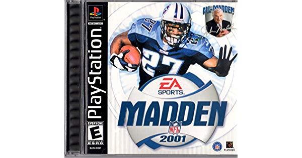 Madden Football - Favorite childhood video games