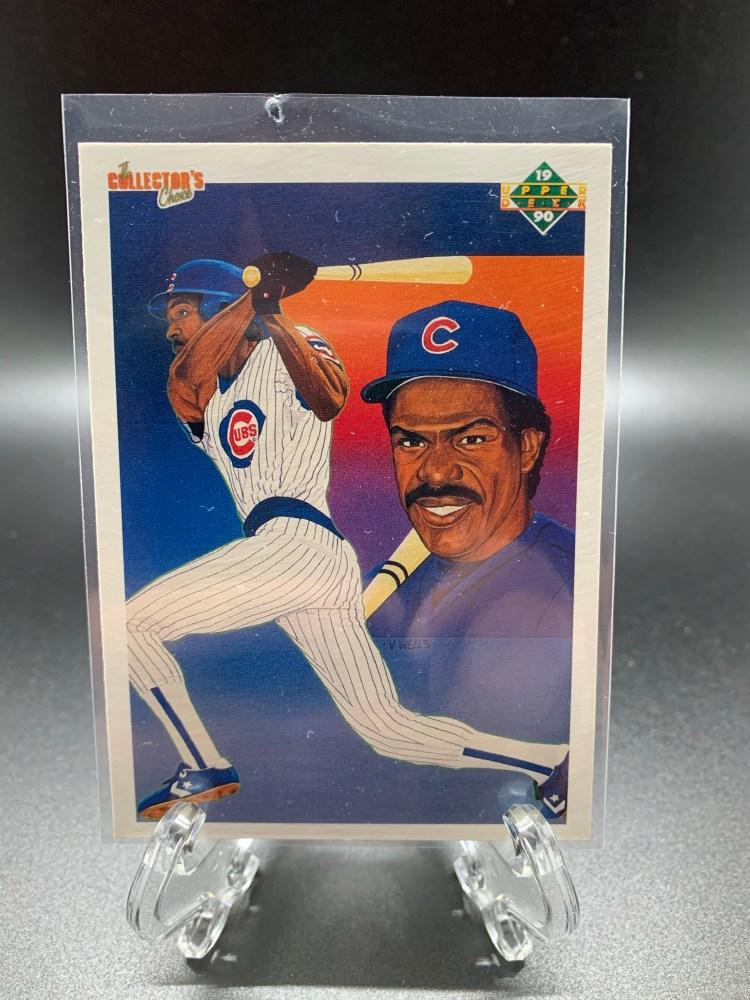 1990 Upper Deck Andre Dawson Cubs baseball card