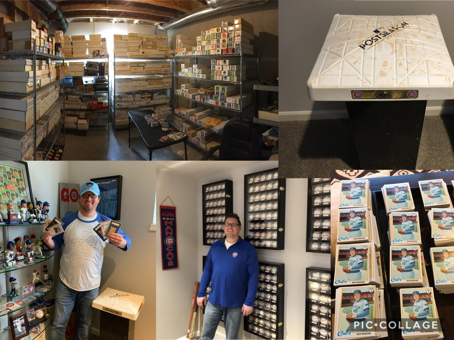 Beau Thompson Is Collecting One Million Chicago Cubs baseball cards
