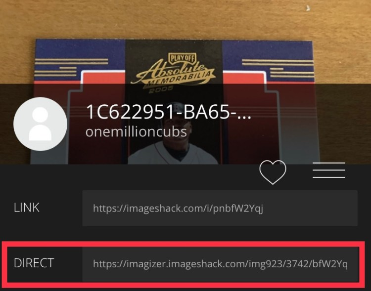 Using Image Shack To Upload Photos With Ebay File Exchange
