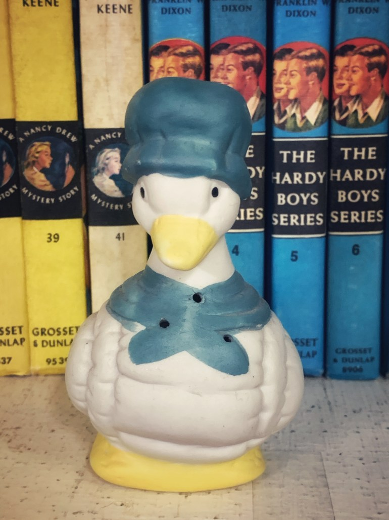 Little Goose in a Blue Hat:  An Afternoon of Antiques in Snohomish, Washington