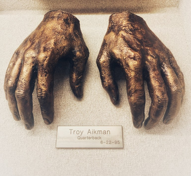 Troy Aikman:  The Hand Collection at Baylor Medical Center in Dallas, Texas