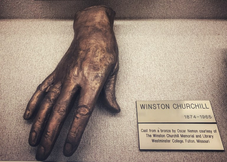 Winston Churchill: The Hand Collection at Baylor Medical Center in Dallas, Texas