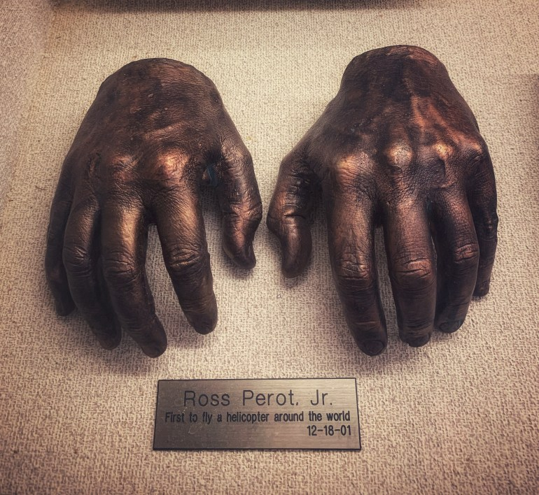 Ross Perot, Jr:  The Hand Collection at Baylor Medical Center in Dallas, Texas