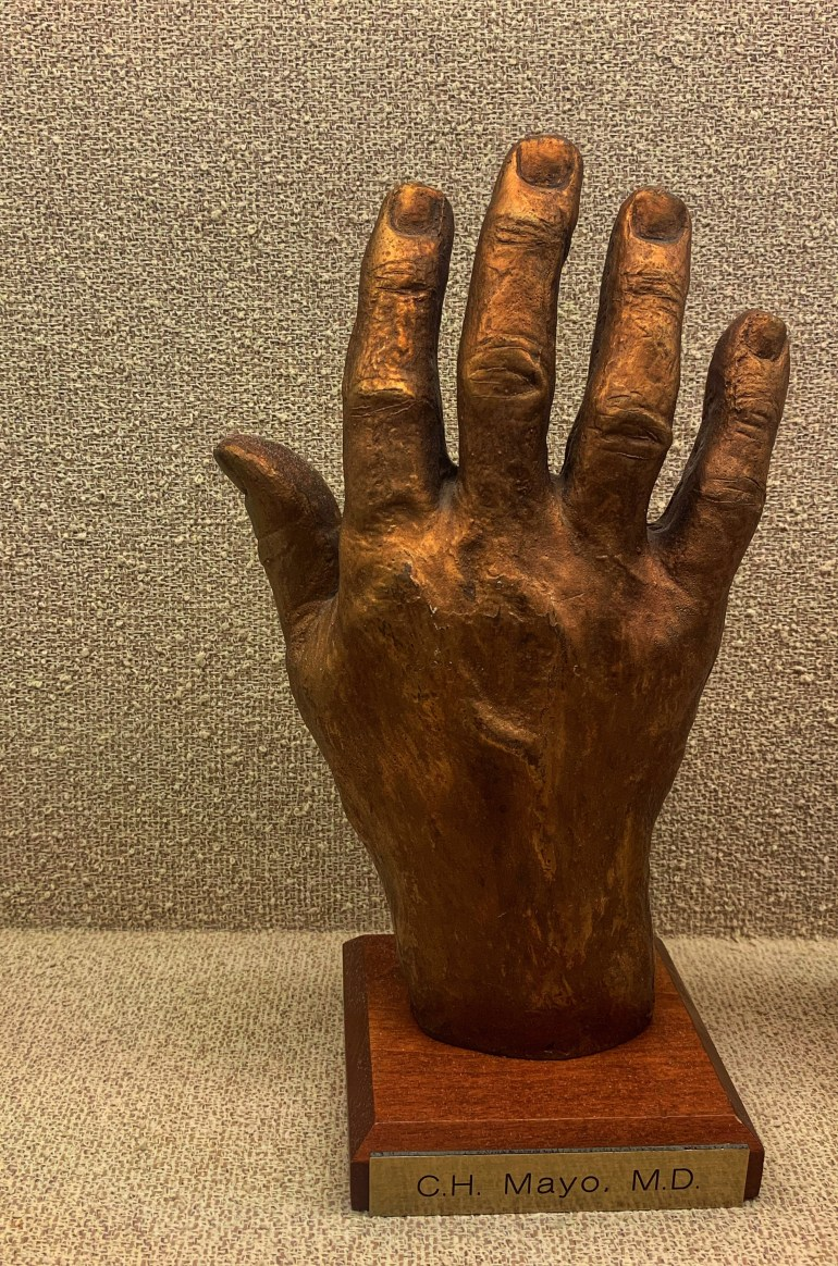 O.H Mayo, MD : The Hand Collection at Baylor Medical Center in Dallas, Texas