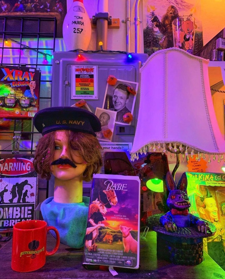 The Freakybuttrue Peculiarium and Museum in Portland, Oregon