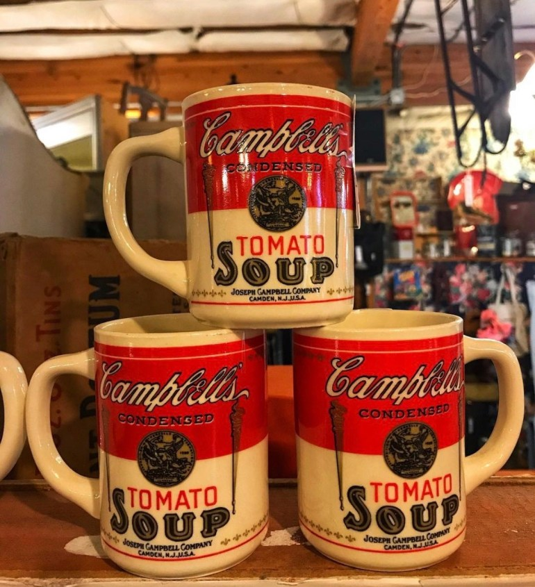 Tomato Soup:  An Afternoon of Antiques in Snohomish, Washington
