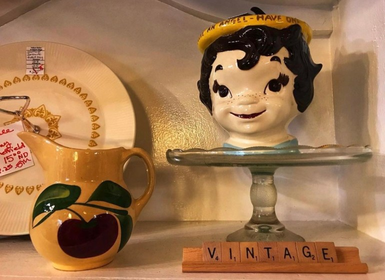 Vintage:  An Afternoon of Antiques in Snohomish, Washington