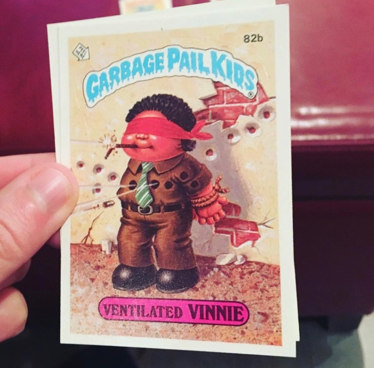 Cleaning Out the Basement: Garbage Pail Kids Cards