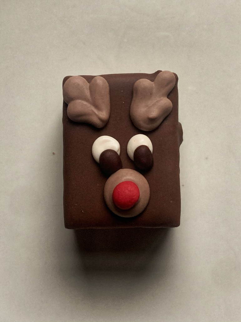 Christmas Confections: Adorable Petit Fours from Metropolitan Market in Seattle, Washington