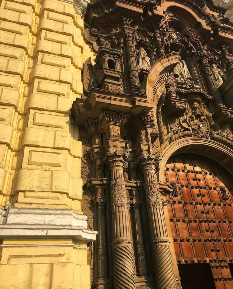 The Catacombs and the Basilica and Convent of San Francisco in Lima, Peru