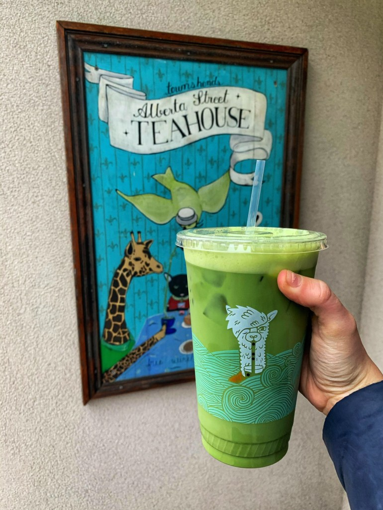 Matcha at Townsend Tea House in Portland, Oregon