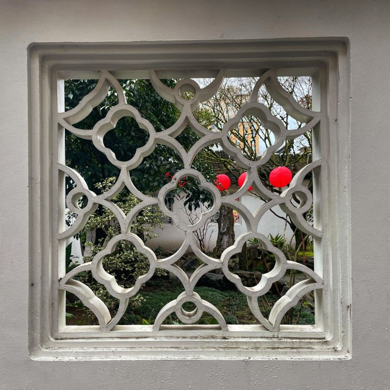 Through the Window: Celebrating Lunar New Year and Lan Su Garden in Portland, Oregon