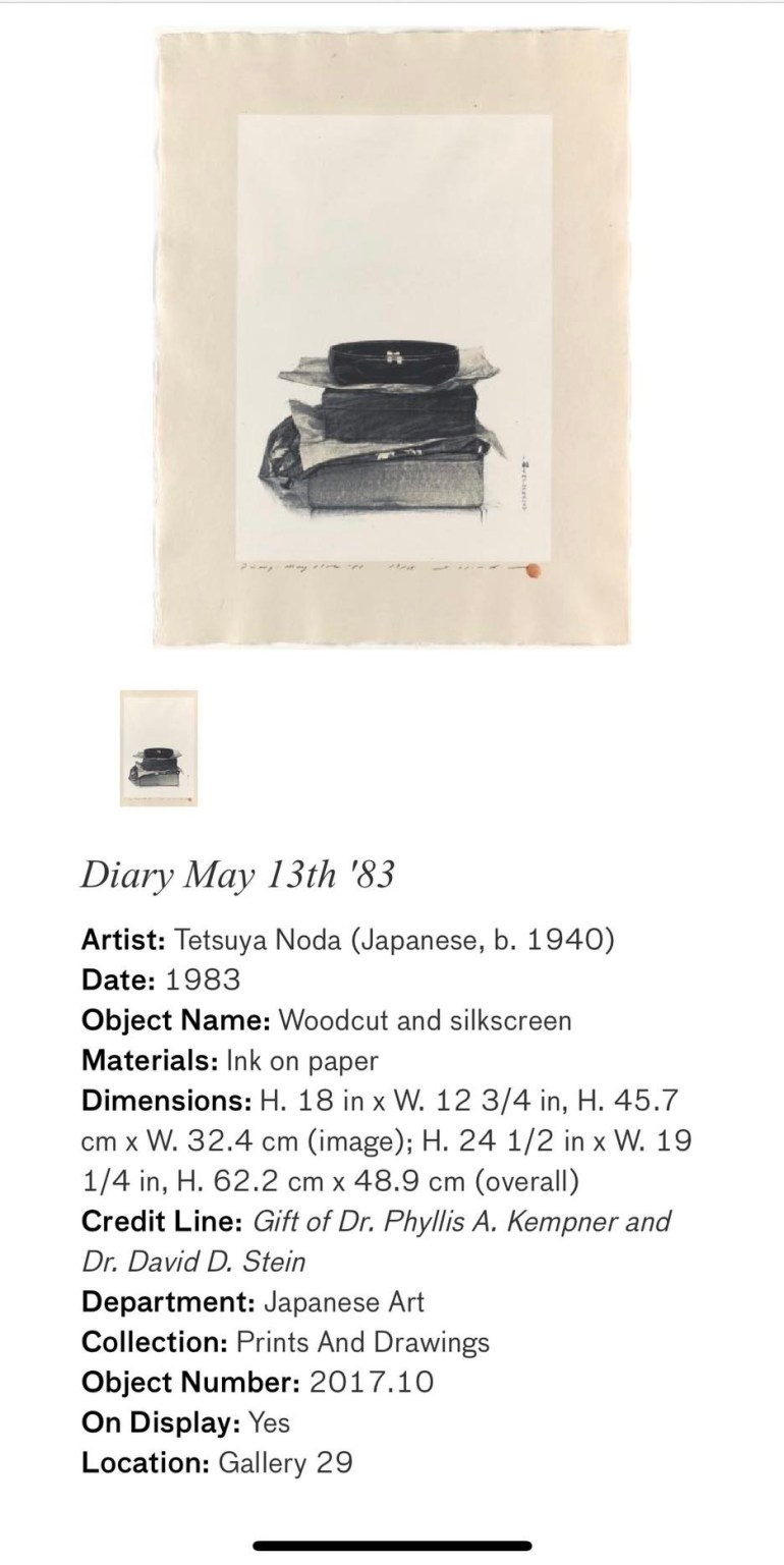Diary May 13th '83: Touring Art Museums During Covid: Asian Art Museum Masterpieces at the Asian Museum of Art in San Francisco