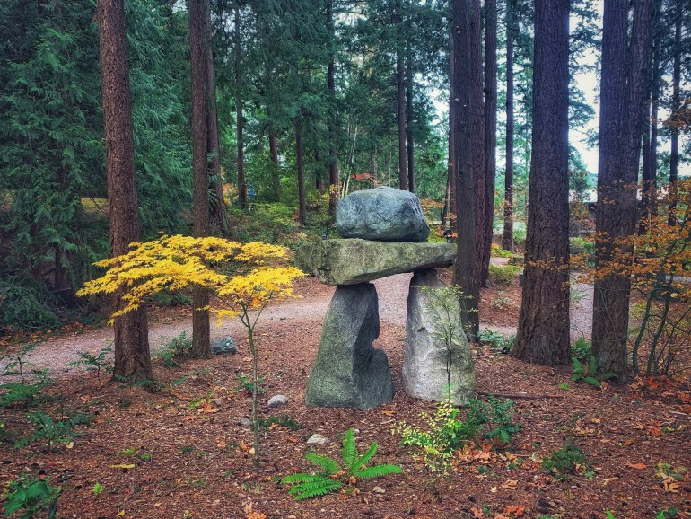 Big Rock Sculpture Garden in Bellingham, Washington