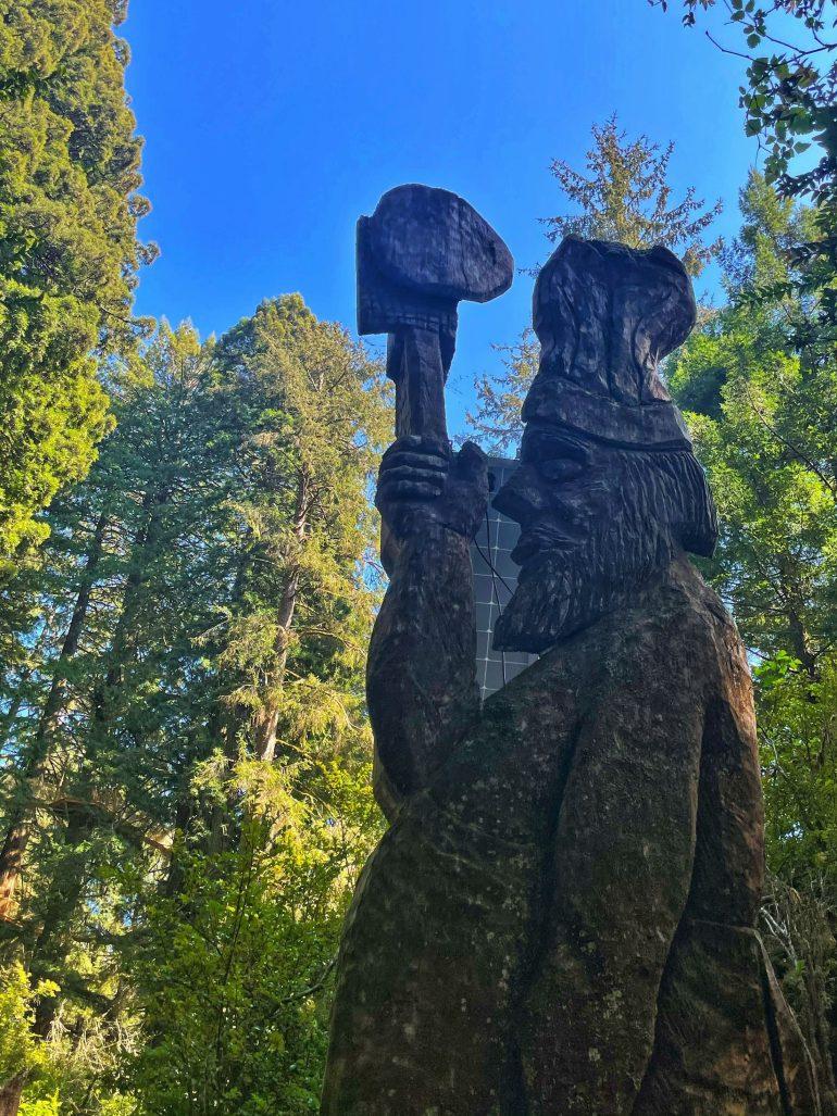 Trees of Mystery in Klamath, California