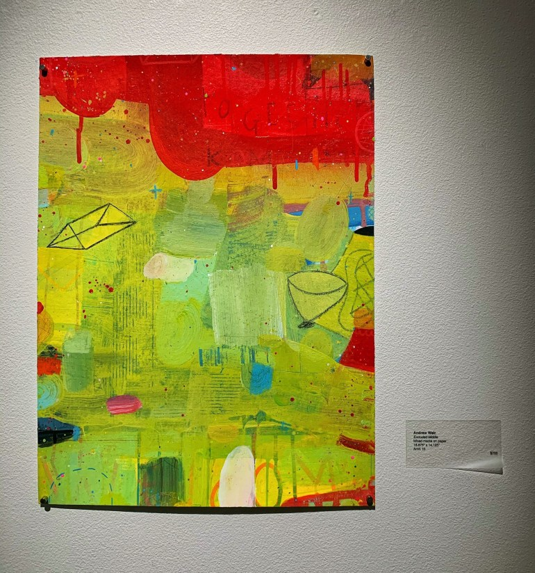 Andrew Weir at the Gail Severn Gallery in Ketchum, Idaho