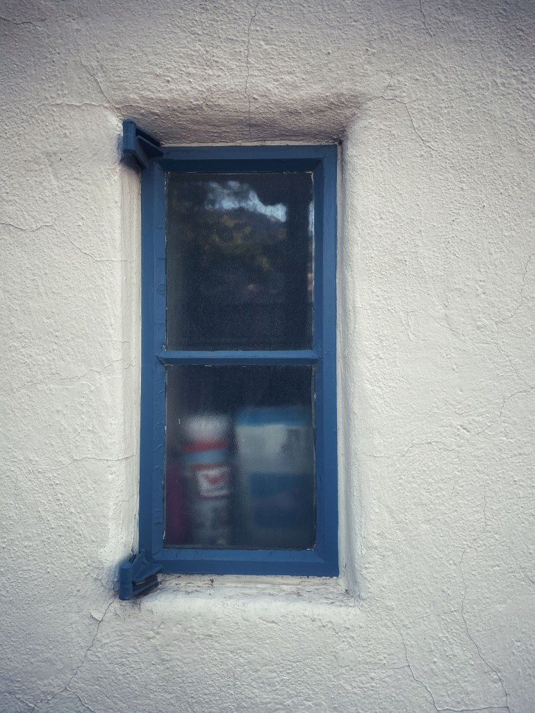Blue Window in Old Town Albuquerque