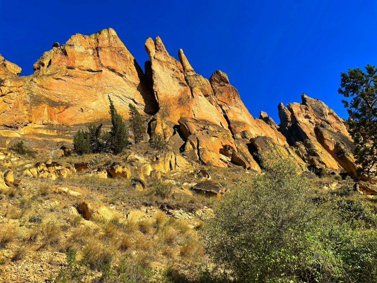 Rock Solid: At Smith Rock State Park in Oregon