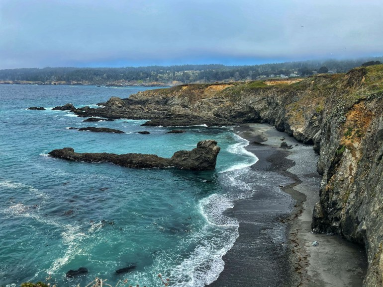 Blue Waters at Headlands State Park in Mendocino, California