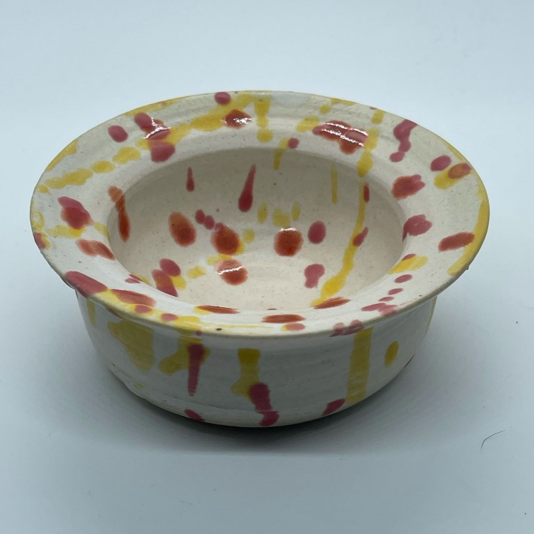 Off the Pottery Wheel: Wide Rimmed Bowl