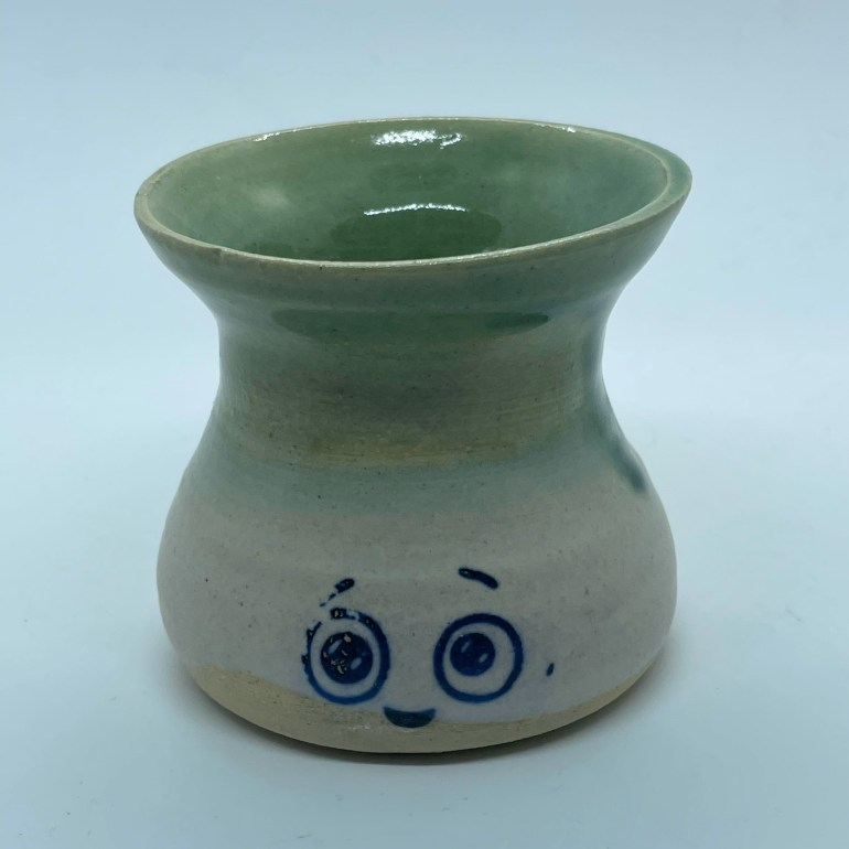 Off the Pottery Wheel: Face Vase