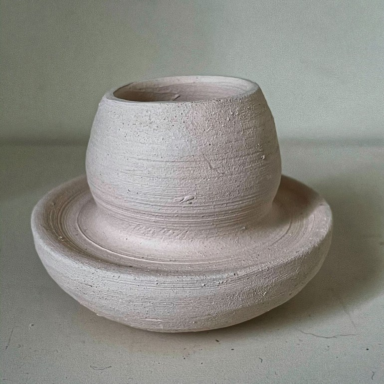 Off the Pottery Wheel: Candlestick Holders in the Making