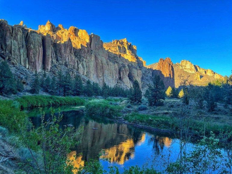 Reflections at Smith Rock, Oregon