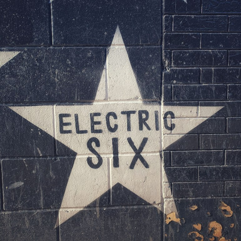 Electric Six's Star on First Ave in Minneapolis, Minnesota