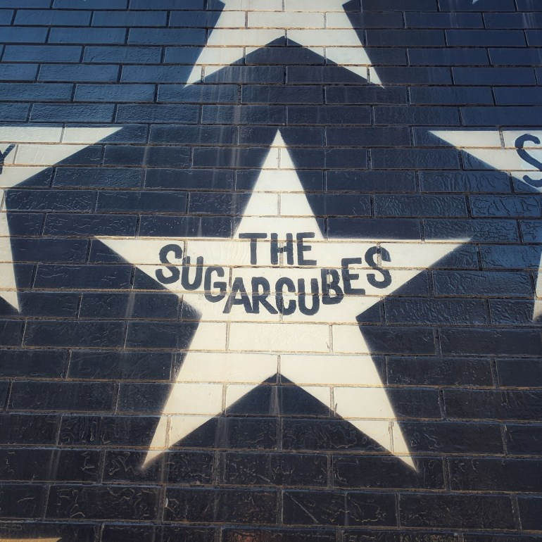 The Sugar Cubes' Star on First Ave in Minneapolis, Minnesota