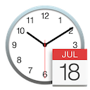 Date and Time Preference Pane icon