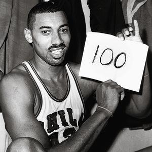 Wilt Chamberlain 100