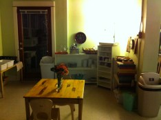 Kitchen in Junior Elementary class