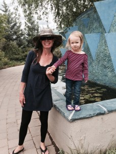 Botanical Gardens (this was before she mastered the balance walk by herself!)