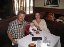 We enjoyed a full lunch at Chez Panisse with our 9-month old!