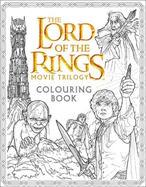 The Lord of the Rings Movie Trilogy – Colouring Book (Colouring Books)