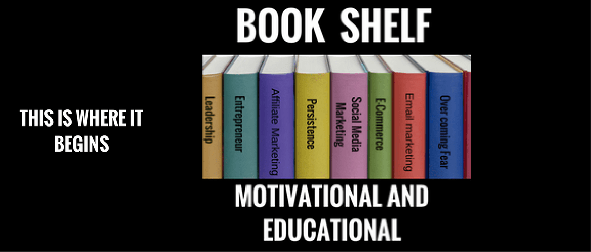This bookshelf contains 10 books that all entrepreneurs must read
