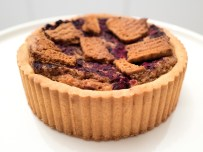 Speculoos Tart with Red Fruits