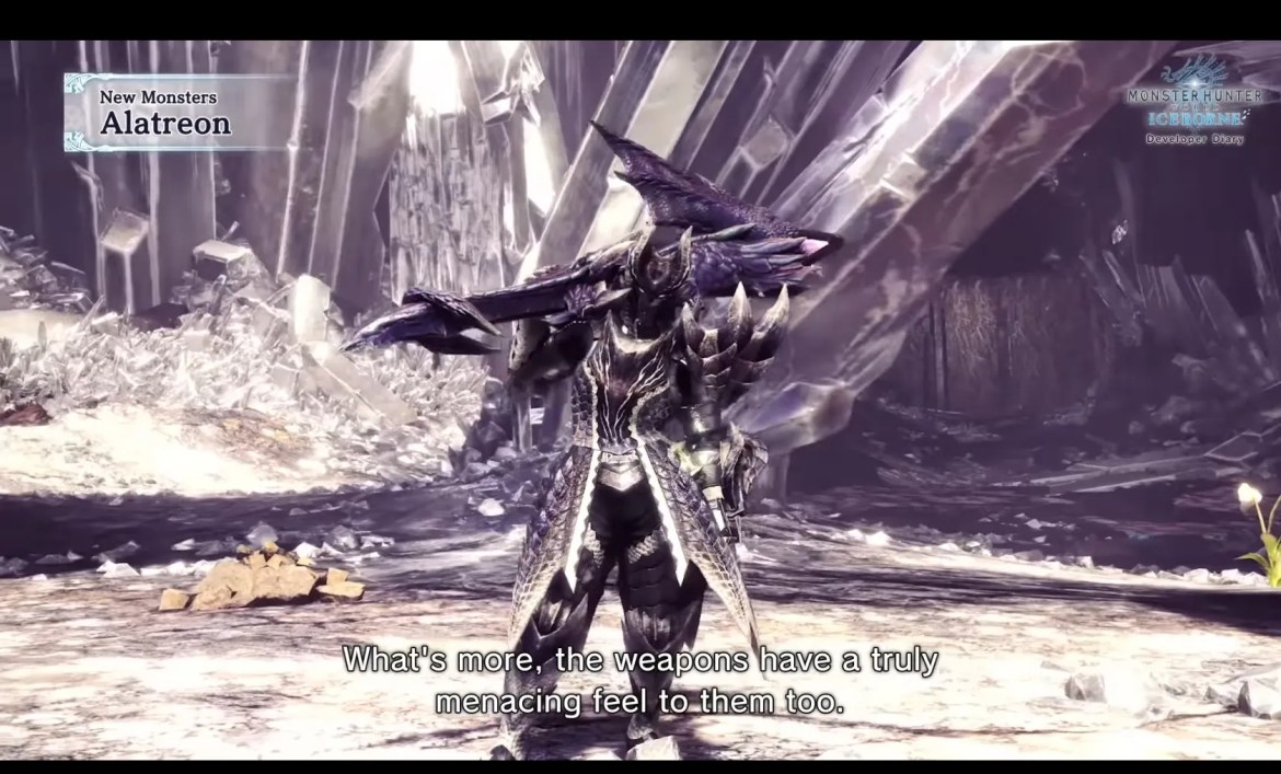 Monster Hunter World Iceborne Brings In Alatreon A Sizzling New