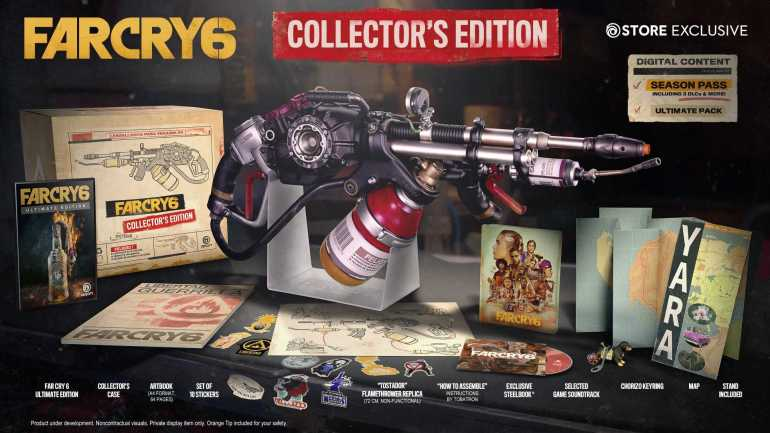 far cry 6 collector's edition