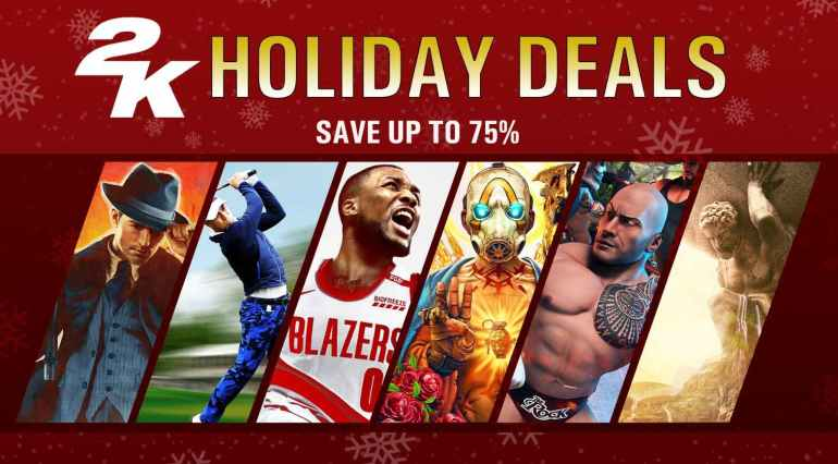 2k games holiday sale