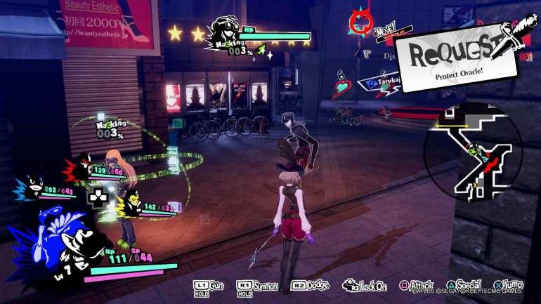 persona 5 strikers screenshot 10