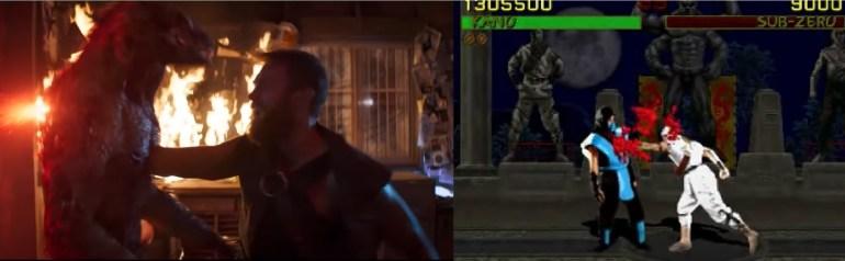 mortal kombat game and movie comparison 20