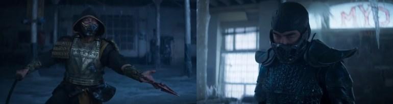 mortal kombat game and movie comparison 6