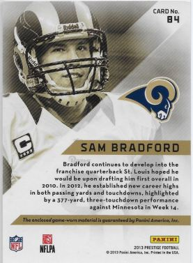 GAMERS Sam Bradford _B