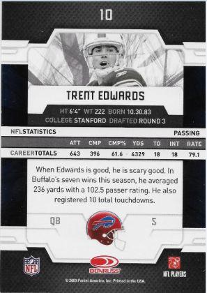 2009 Elite Edwards Back