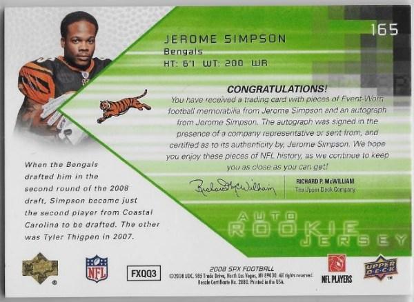 2008-spx-jerome-simpson-jersey-auto-back