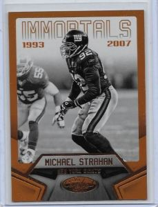 2016 Certified Michael Strahan Numbered