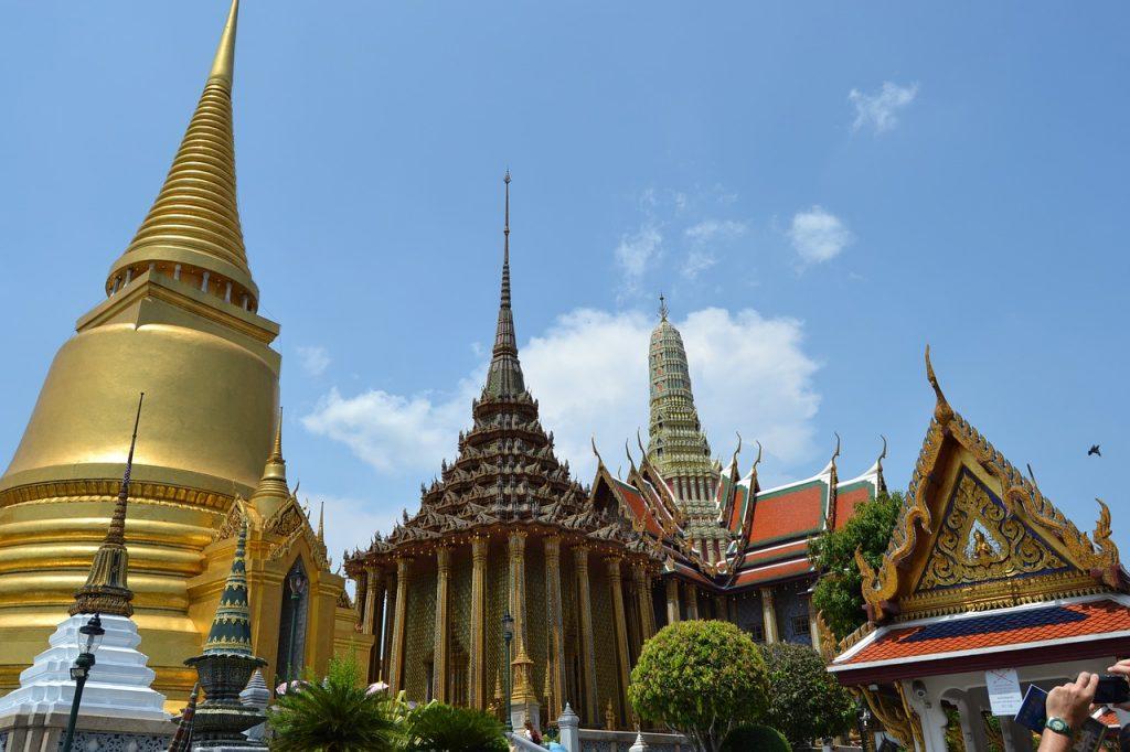 Wat-Phra-Kaew panoramica